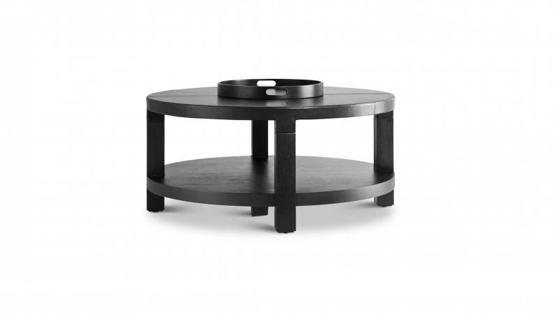 Grevstad - Marka Round Coffee Table with Shelf