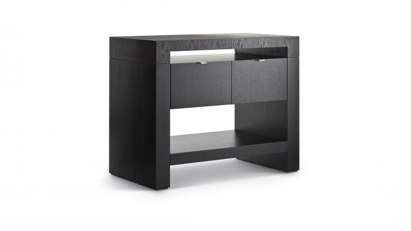 Grevstad - Marka Bedside Table With Drawers [large]